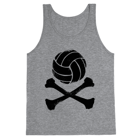 Volleyball and Crossbones (Vintage) Tank Top