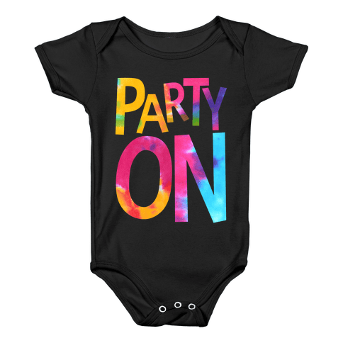 Party On Baby Onesy