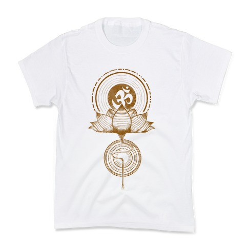 Aum and Lotus Kids T-Shirt