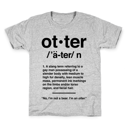 Otter Definition Kids T-Shirt