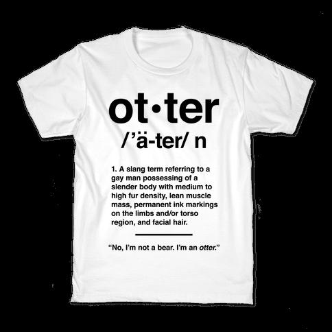 Otter Definition Kids T-Shirt