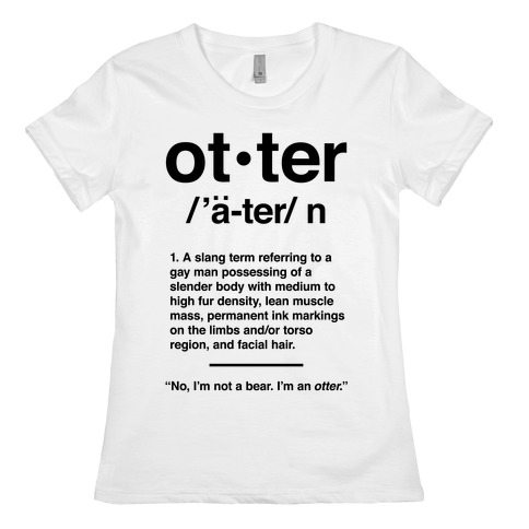 What is an otter in gay terms