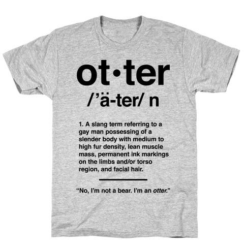 Otter Definition T-Shirt