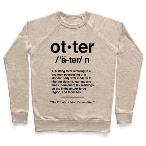 Otter Definition Pullover