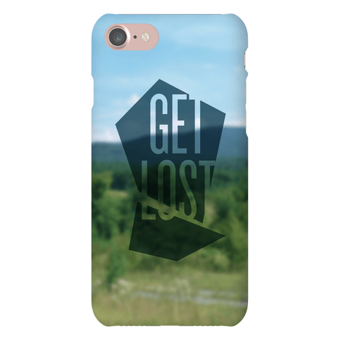 Get Lost Phone Case
