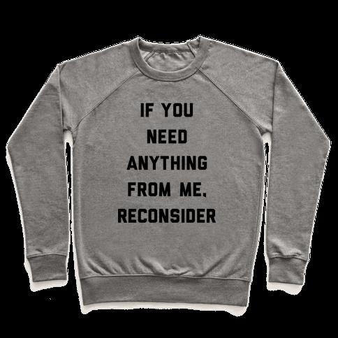 Reconsider Pullover