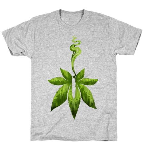 Green Leaf- Cannabis T-Shirt