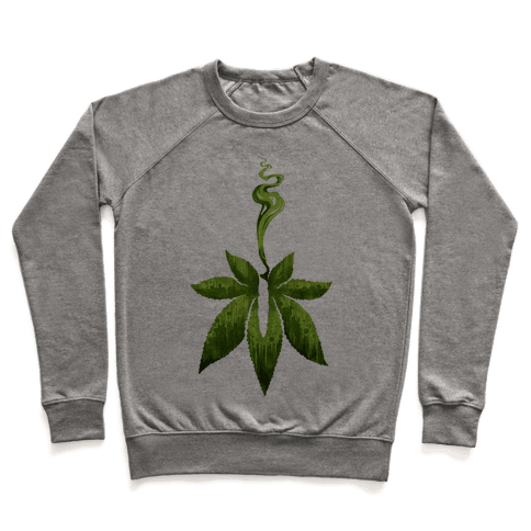 Green Leaf- Cannabis Pullover