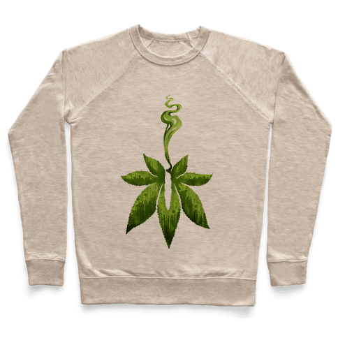Green Leaf- Cannabis Pullover