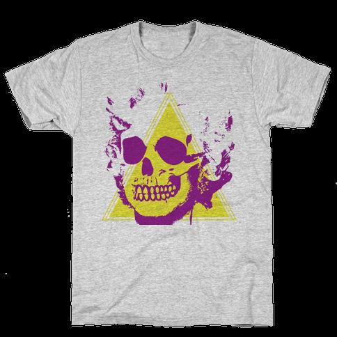 MARILYN SKULL Mens T-Shirt