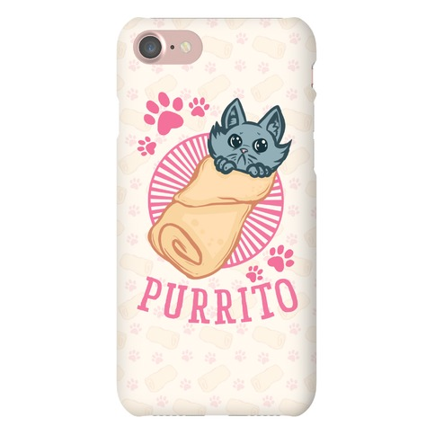 Purrito Phone Case