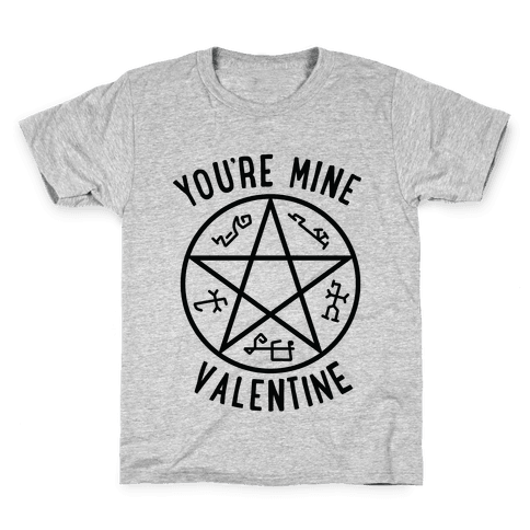 Devil's Trap Supernatural Valentine Kids T-Shirt