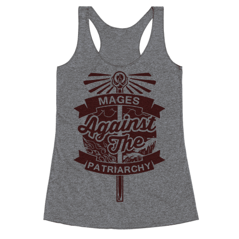 Mages Against The Patriarchy Racerback Tank Top