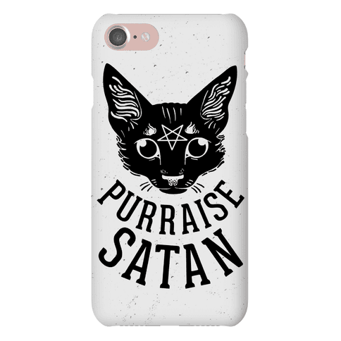 Purraise Satan Phone Case