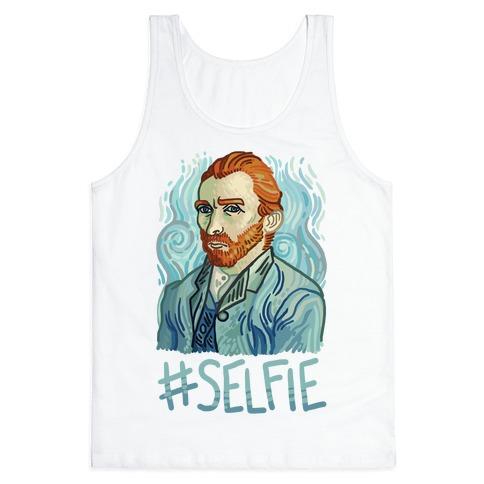 Van Gogh Selfie Tank Top