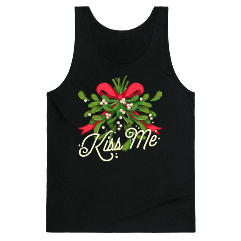 Mistletoe Kiss Me Tank Top