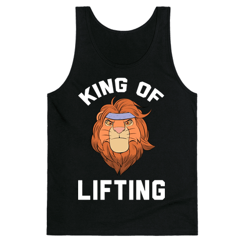 King Of Lifting Tank Top