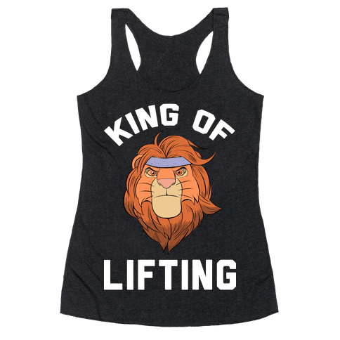 King Of Lifting Racerback Tank Top
