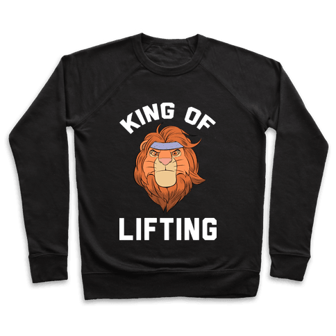 King Of Lifting Pullover