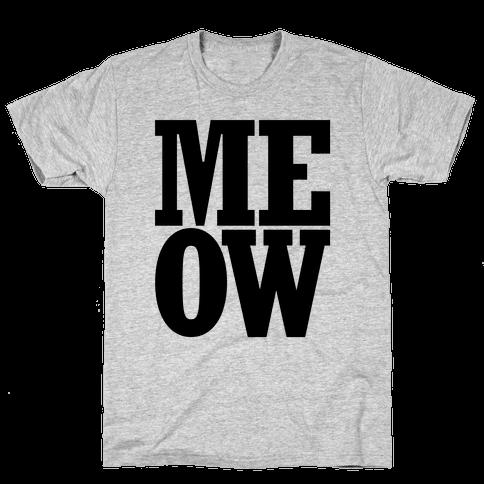 Meow Mens T-Shirt