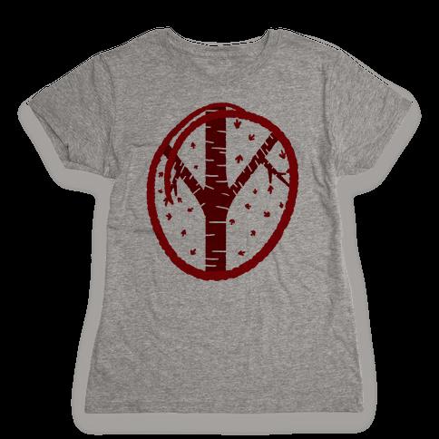 Red Tree Womens T-Shirt