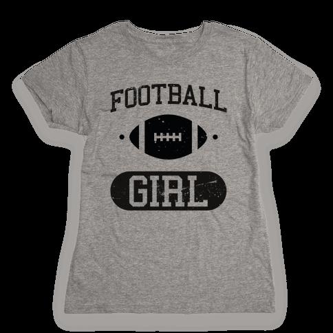 Football Girl Womens T-Shirt