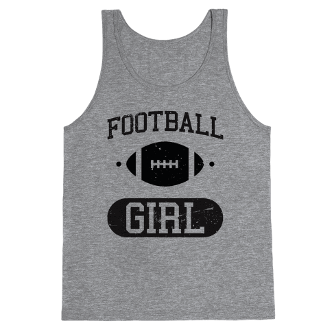 Football Girl Tank Top