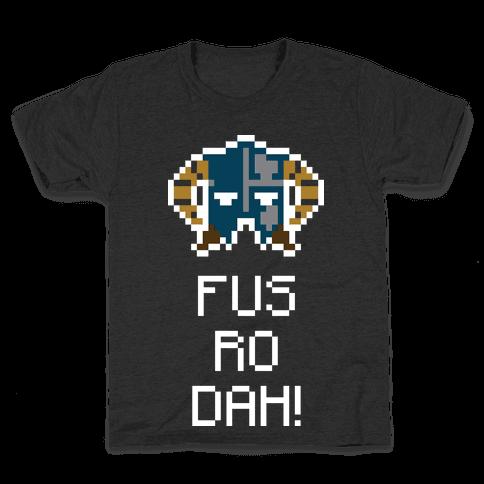 Dragon Shout Kids T-Shirt