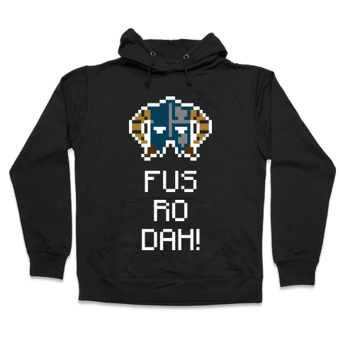 Dragon Shout Hooded Sweatshirt