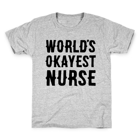 Greater Passion to Be A Nurse Childrens Long Sleeve T-Shirt Boys Cotton Tee Tops