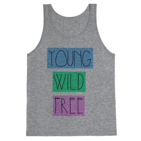 Young Wild Free Tank Top
