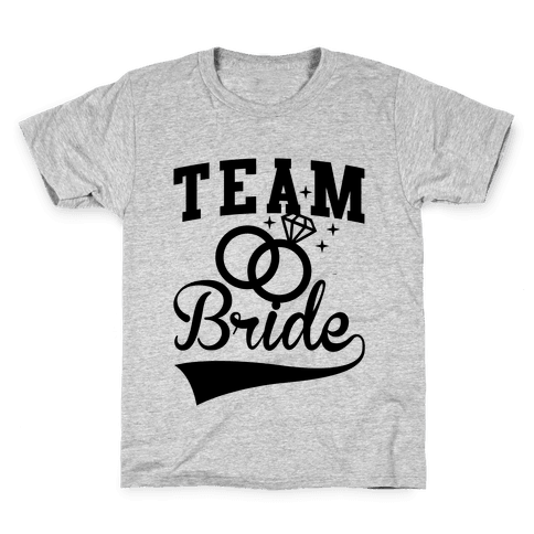 Team Bride Kids T-Shirt