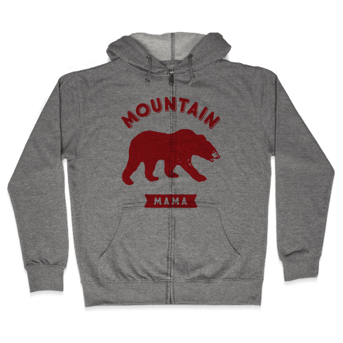 Mountain Mama Zip Hoodie