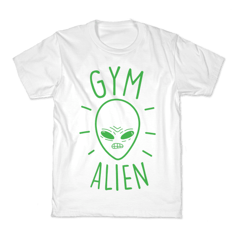 Gym Alien Kids T-Shirt