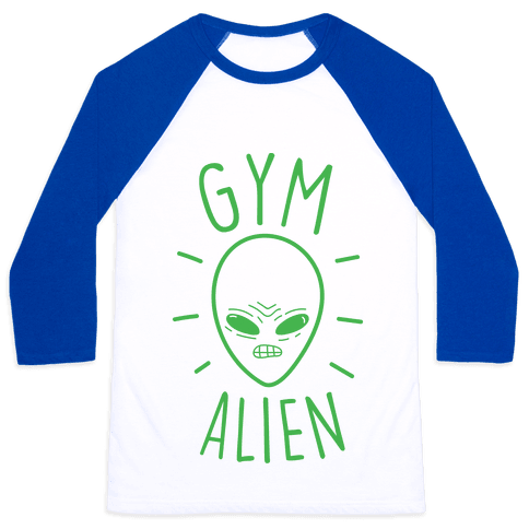 Gym Alien Baseball Tee