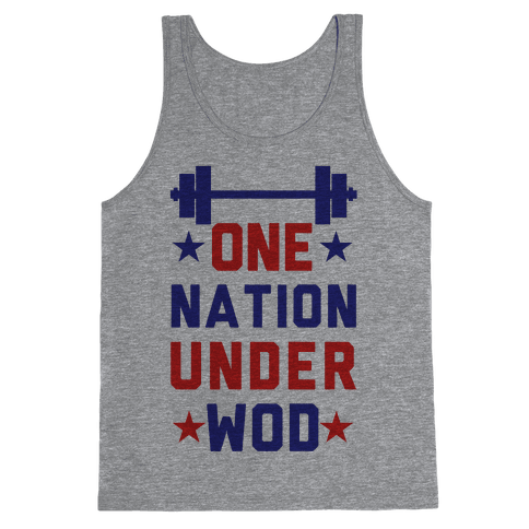 One Nation Under WOD Tank Top