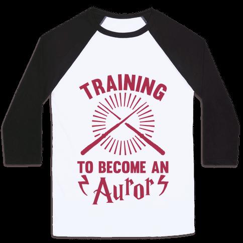 Training To Become An Auror Baseball Tee