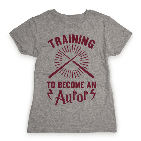 Training To Become An Auror Womens T-Shirt