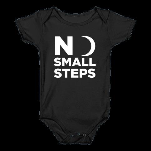 No Small Steps Baby Onesy