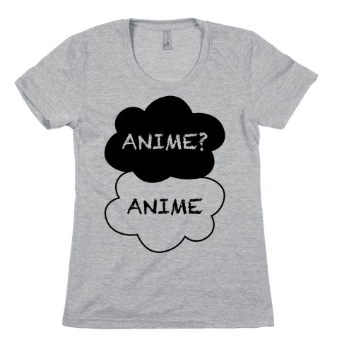 Anime? Anime. Womens T-Shirt