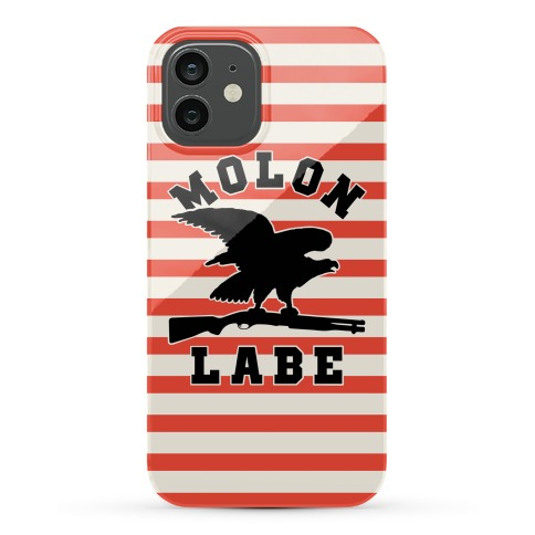 Molon Labe Eagle Phone Case