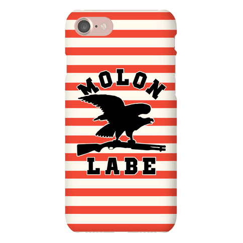 Molon Labe Eagle Phone Case