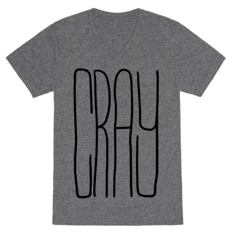 Cray V-Neck Tee Shirt
