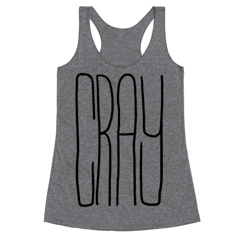 Cray Racerback Tank Top