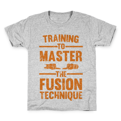 Training To Master The Fusion Technique Kids T-Shirt