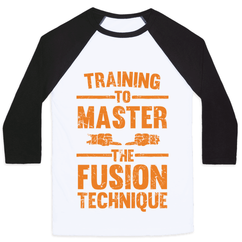 Training To Master The Fusion Technique Baseball Tee