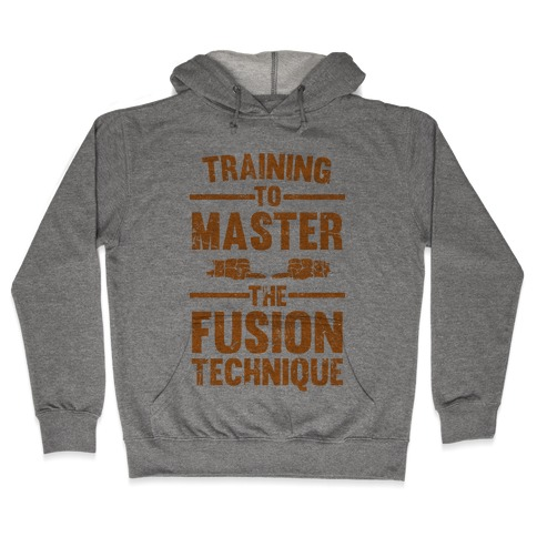 Training To Master The Fusion Technique Hooded Sweatshirt
