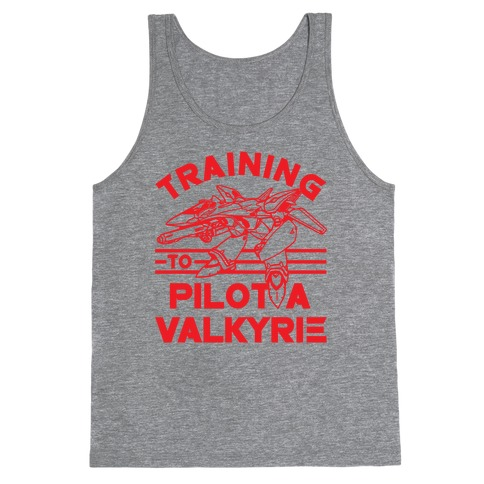 Training To Pilot A Valkyrie Tank Top