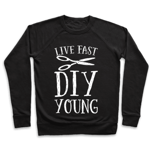 Live Fast DIY Young Pullover