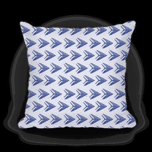 Navy Watercolor Arrow Pattern